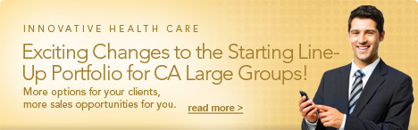 Exciting Changes to Health Net of California's Starting Line-Up!